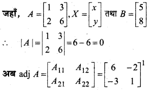 MP Board Class 12th Maths Book Solutions Chapter 4 सारणिक Ex 4.6 3