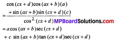 MP Board Class 12th Maths Book Solutions Chapter 5 सांतत्य तथा अवकलनीयता Ex 5.2 6