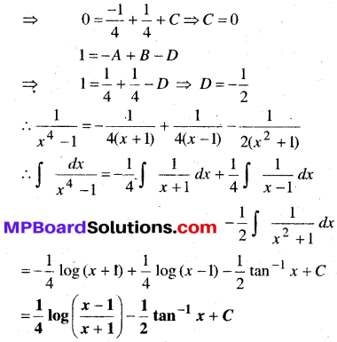 MP Board Class 12th Maths Book Solutions Chapter 7 समाकलन Ex 7.5 32