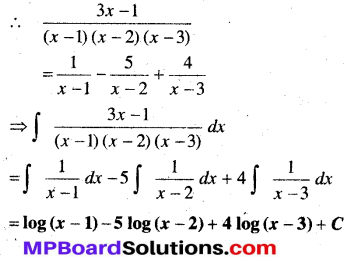 MP Board Class 12th Maths Book Solutions Chapter 7 समाकलन Ex 7.5 6