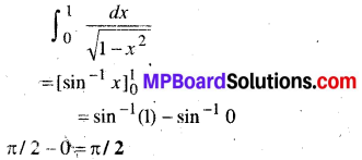 MP Board Class 12th Maths Book Solutions Chapter 7 समाकलन Ex 7.9 8