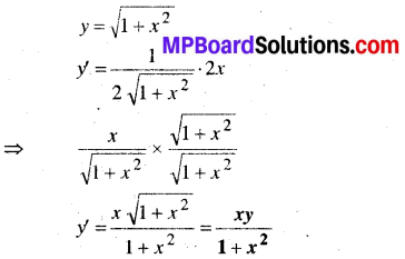 MP Board Class 12th Maths Book Solutions Chapter 9 अवकल समीकरण Ex 9.2 2
