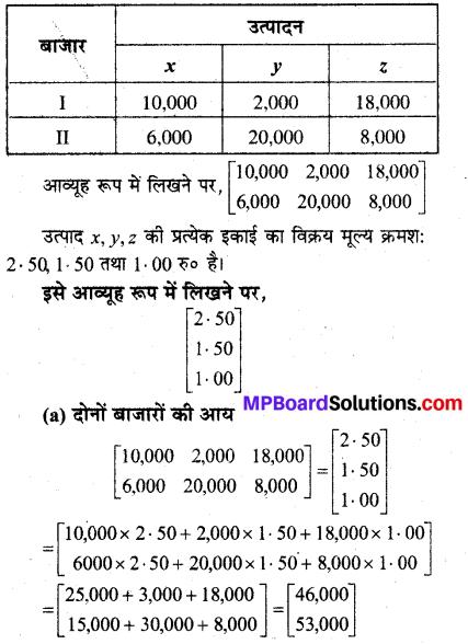 MP Board Class 12th Maths Solutions Chapter 3 आव्यूह विविध प्रश्नावली 18