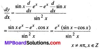 MP Board Class 12th Maths Solutions Chapter 5 सांतत्य तथा अवकलनीयता Ex 5.4 1