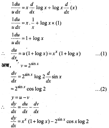 MP Board Class 12th Maths Solutions Chapter 5 सांतत्य तथा अवकलनीयता Ex 5.4 14