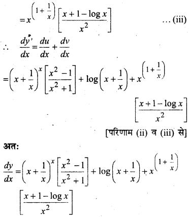MP Board Class 12th Maths Solutions Chapter 5 सांतत्य तथा अवकलनीयता Ex 5.4 20