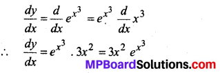 MP Board Class 12th Maths Solutions Chapter 5 सांतत्य तथा अवकलनीयता Ex 5.4 3