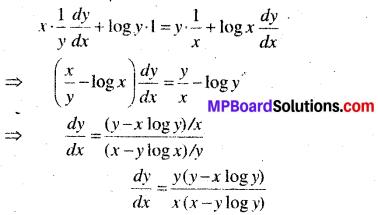 MP Board Class 12th Maths Solutions Chapter 5 सांतत्य तथा अवकलनीयता Ex 5.4 35