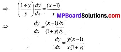 MP Board Class 12th Maths Solutions Chapter 5 सांतत्य तथा अवकलनीयता Ex 5.4 38