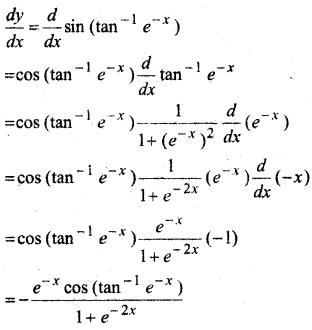 MP Board Class 12th Maths Solutions Chapter 5 सांतत्य तथा अवकलनीयता Ex 5.4 4
