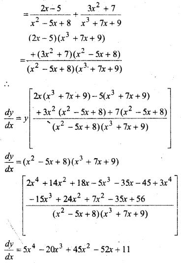 MP Board Class 12th Maths Solutions Chapter 5 सांतत्य तथा अवकलनीयता Ex 5.4 42
