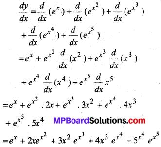 MP Board Class 12th Maths Solutions Chapter 5 सांतत्य तथा अवकलनीयता Ex 5.4 6