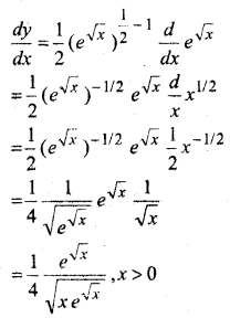 MP Board Class 12th Maths Solutions Chapter 5 सांतत्य तथा अवकलनीयता Ex 5.4 7