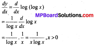 MP Board Class 12th Maths Solutions Chapter 5 सांतत्य तथा अवकलनीयता Ex 5.4 8