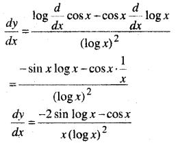 MP Board Class 12th Maths Solutions Chapter 5 सांतत्य तथा अवकलनीयता Ex 5.4 9