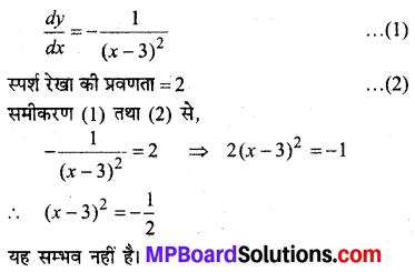 MP Board Class 12th Maths Solutions Chapter 6 अवकलज के अनुप्रयोग Ex 6.3 10