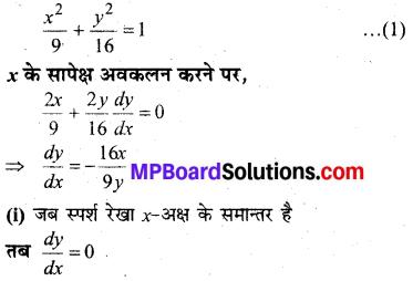 MP Board Class 12th Maths Solutions Chapter 6 अवकलज के अनुप्रयोग Ex 6.3 12