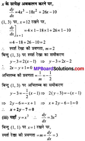 MP Board Class 12th Maths Solutions Chapter 6 अवकलज के अनुप्रयोग Ex 6.3 15