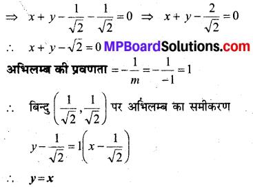 MP Board Class 12th Maths Solutions Chapter 6 अवकलज के अनुप्रयोग Ex 6.3 18