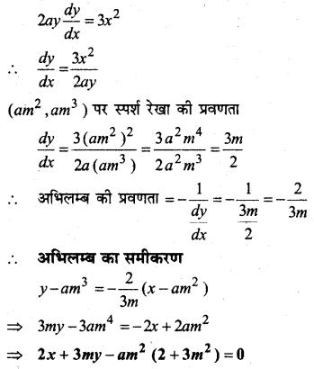 MP Board Class 12th Maths Solutions Chapter 6 अवकलज के अनुप्रयोग Ex 6.3 22