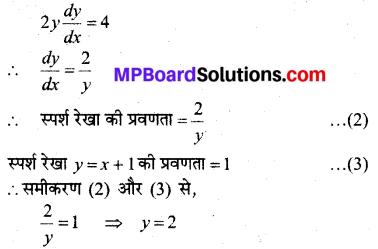 MP Board Class 12th Maths Solutions Chapter 6 अवकलज के अनुप्रयोग Ex 6.3 31