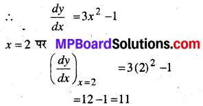 MP Board Class 12th Maths Solutions Chapter 6 अवकलज के अनुप्रयोग Ex 6.3 4