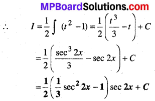 MP Board Class 12th Maths Solutions Chapter 7 समाकलन Ex 7.3 21