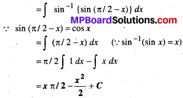 MP Board Class 12th Maths Solutions Chapter 7 समाकलन Ex 7.3 27
