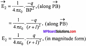 MP Board 12th Physics Chapter 1 Electric Charges and Fields Important Questions - 19
