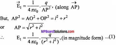 MP Board 12th Physics Chapter 1 Electric Charges and Fields Important Questions - 23