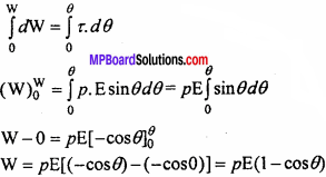MP Board 12th Physics Chapter 1 Electric Charges and Fields Important Questions - 34
