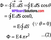MP Board 12th Physics Chapter 1 Electric Charges and Fields Important Questions - 52