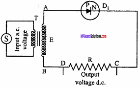 MP Board 12th Physics Important Questions Chapter 14 Semiconductor Electronics Materials, Devices and Simple Circuits 25