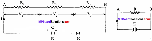 MP Board 12th Physics Important Questions Chapter 3 Current Electricity - 16