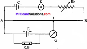 MP Board 12th Physics Important Questions Chapter 3 Current Electricity - 20
