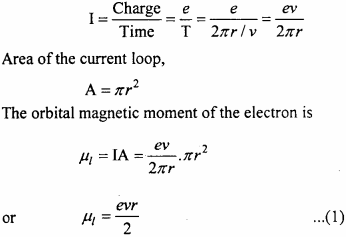 MP Board 12th Physics Important Questions Chapter 5 Magnetism and Matter 14