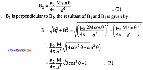 MP Board 12th Physics Important Questions Chapter 5 Magnetism and Matter 22