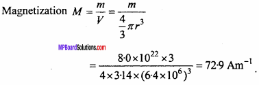 MP Board 12th Physics Important Questions Chapter 5 Magnetism and Matter 27