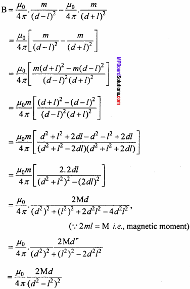 MP Board 12th Physics Important Questions Chapter 5 Magnetism and Matter 6