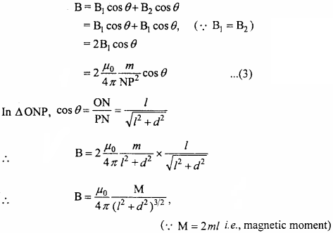MP Board 12th Physics Important Questions Chapter 5 Magnetism and Matter 9