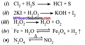 MP Board Class 10th Science Solutions Chapter 1 Chemical Reactions and Equations 12