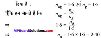 MP Board Class 10th Science Solutions Chapter 10 प्रकाश-परावर्तन तथा अपवर्तन 44
