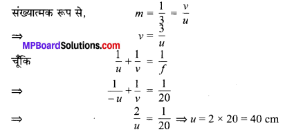 MP Board Class 10th Science Solutions Chapter 10 प्रकाश-परावर्तन तथा अपवर्तन 72