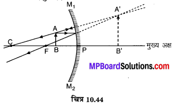 MP Board Class 10th Science Solutions Chapter 10 प्रकाश-परावर्तन तथा अपवर्तन 76