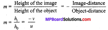Mp Board Solution.Com Class 10 Light Reflection and Refraction