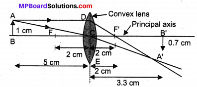 Class 10 Science Mp Board Solution Light Reflection and Refraction