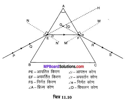 MP Board Class 10th Science Solutions Chapter 11 मानव नेत्र एवं रंगबिरंगा संसार 17