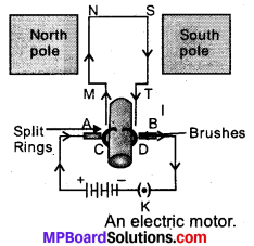 MP Board Class 10th Science Solutions Chapter 13 Magnetic Effects of Electric Current 5