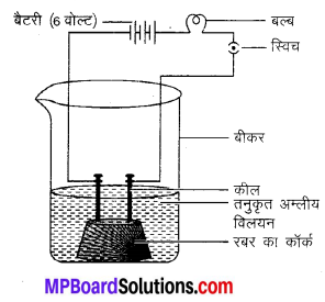 MP Board Class 10th Science Solutions Chapter 2 अम्ल, क्षारक एवं लवण 6