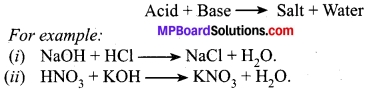 Class 10 Science Solution Chapter 2 Mp Board